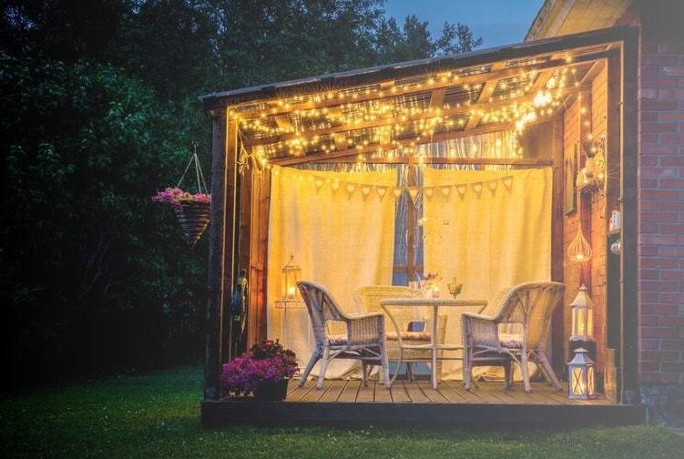 Kış bahçesi aydınlatma sistemleri