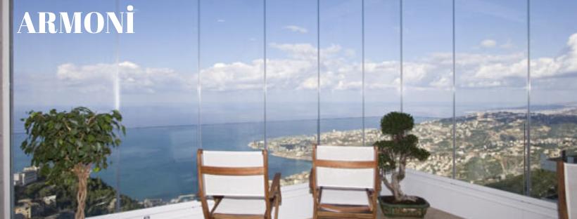 Katlanan cam balkon İzmir