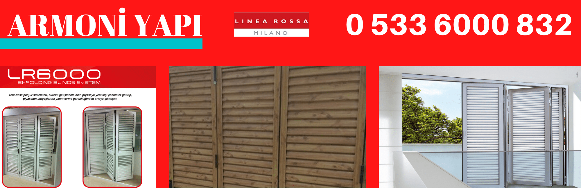 Linea Rossa LR-6000 alüminyum kepenk