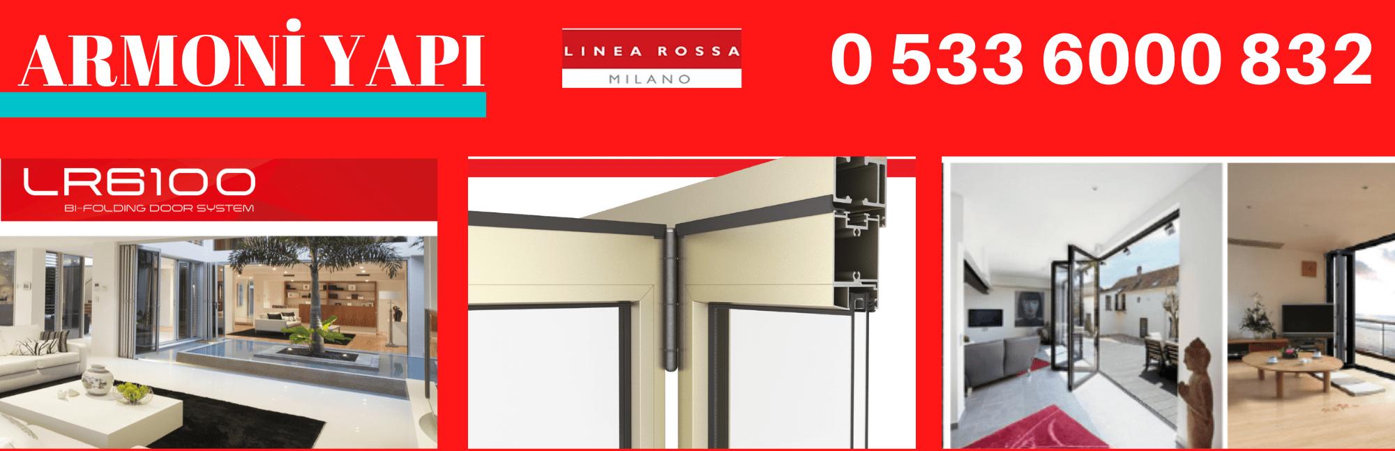 Linea Rossa LR-6100 katlanır kapı sistemleri